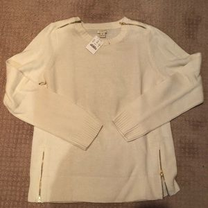 Cream JCrew Sweater